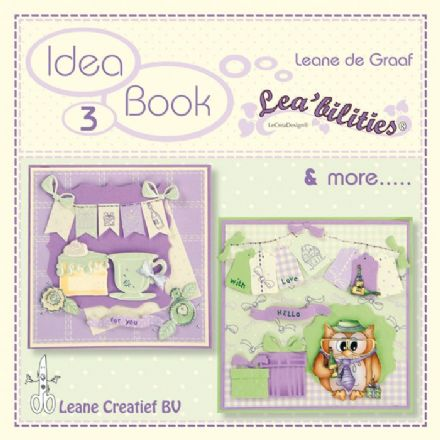 90.9098 ~ IDEAS BOOK 3 ~ FOR LEANNE CREATIEF DIES
